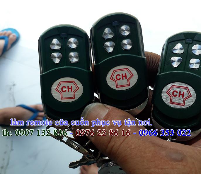 Làm Remote Cửa Cuốn Quận Tân Bình
